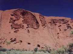 The brain, Ayers Rock
