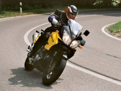 V-Strom in action - at Wattenwil BE, CH